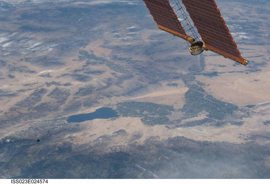 Salton Sea And Imperial Valley Nasa International Space