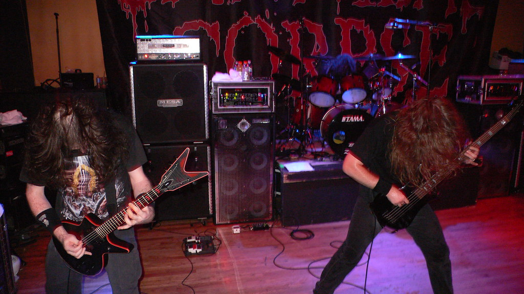 Rob Barrett and Alex Webster of Cannibal Corpse   Flickr - Photo ...