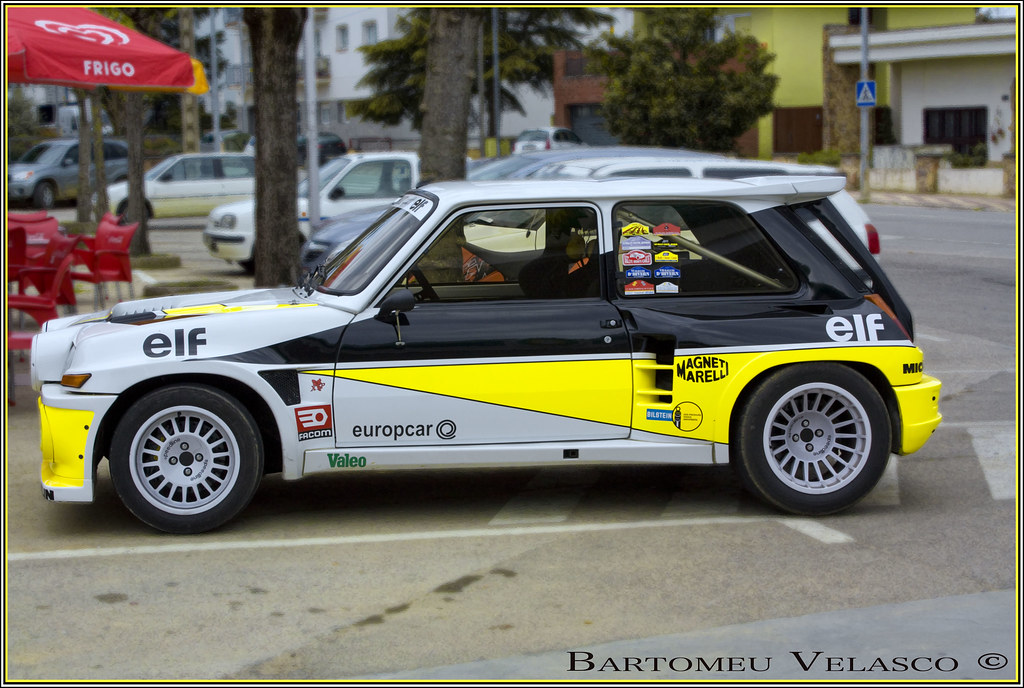 renault 5 maxi turbo ex carlos sainz bartomeu9 flickr. Black Bedroom Furniture Sets. Home Design Ideas