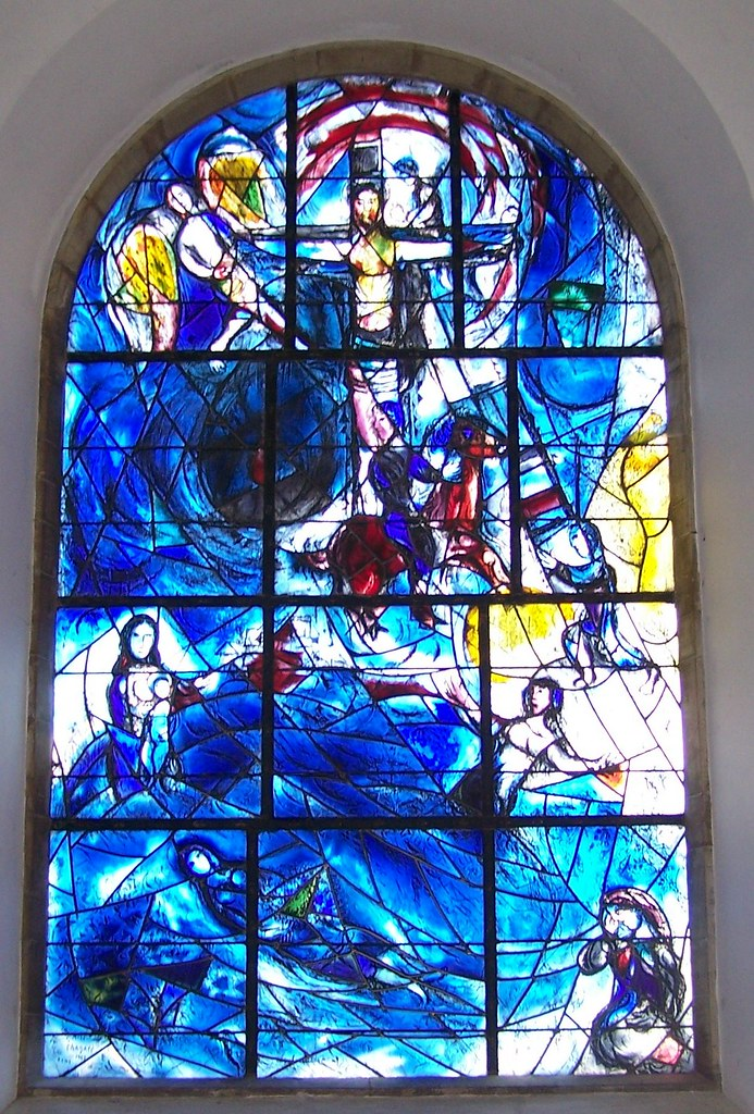 Marc Chagall Tudeley Main Window The Main Marc