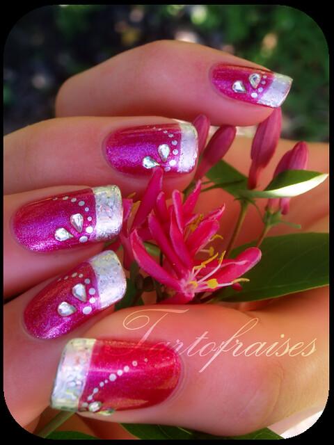 Tartofraises Nail Art Go To My Nail Art Blog For More Info Flickr