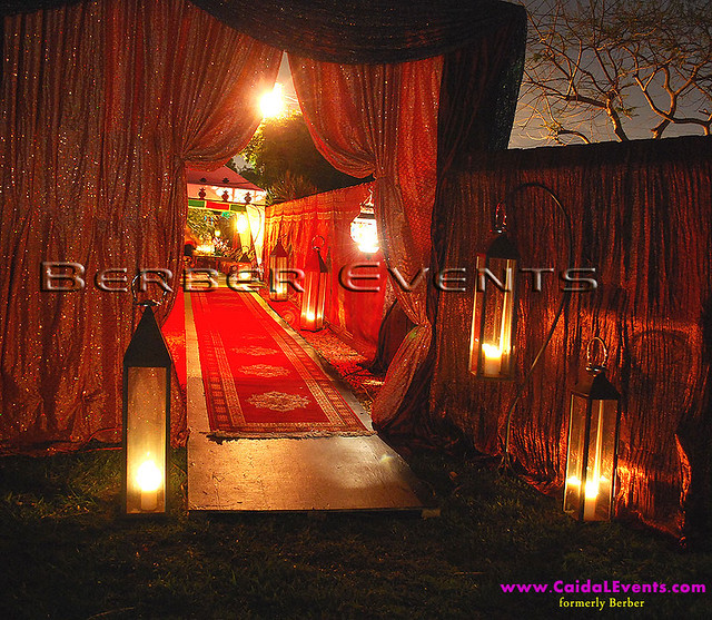 Moroccan Theme Draping Entrance Www Berberevents Com