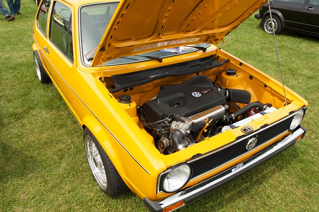 Volkswagen Rabbit With Engine Swap Mk1 Rabbit With A 1
