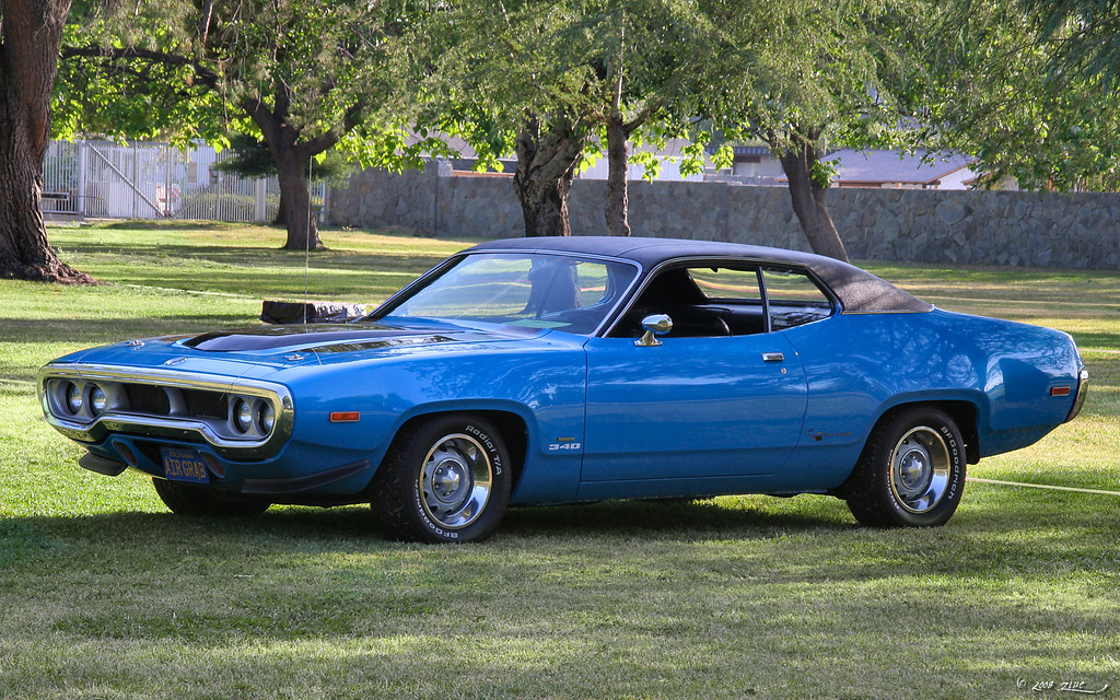 1972 Plymouth Road Runner Blue 1 Rex Gray Flickr