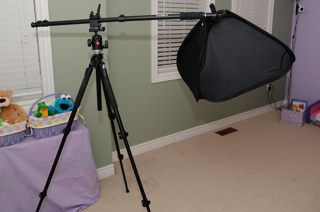 Tripod Lightstand Monopod As Boom Arm For Ebay Softbox Wi Flickr