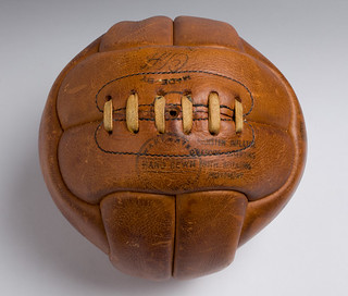 Handstitched Globe football, Cliff Jabez And Company Limited, Walsall, c.1964, LC2002_5_P1 | by Black Country Museums