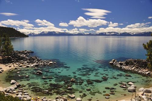 Secret Cove Beach Lake Tahoe