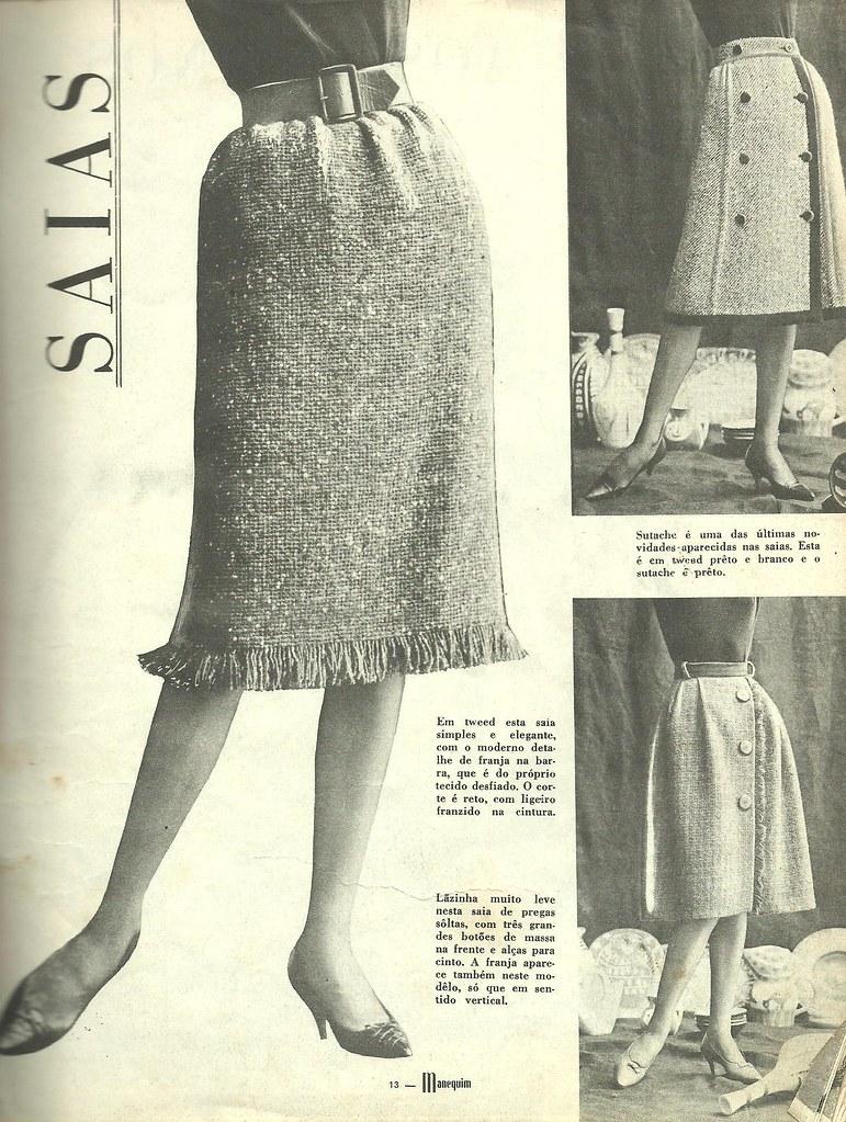 Skirts Skirts In Brazilian Fashion Magazine Manequim Ma Flickr