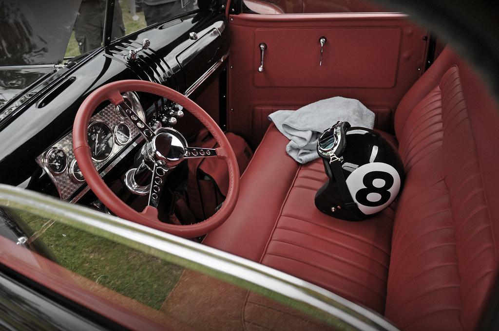 1946 chevrolet pickup street rod interior 2010 nsra bill flickr. Black Bedroom Furniture Sets. Home Design Ideas