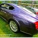 Purple Wheels Car