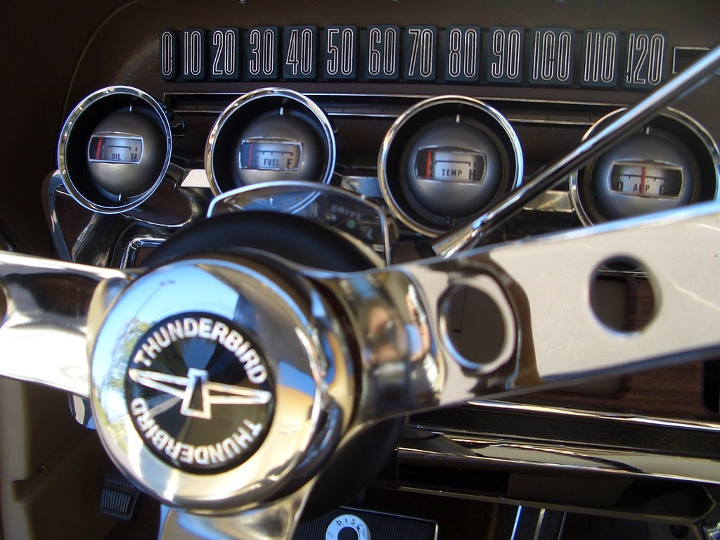 My 1965 Ford Thunderbird Speedometer Amp Gauges