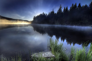 Sunrise at Trillium Lake, Oregon 2 - HDR | by David Gn Photography