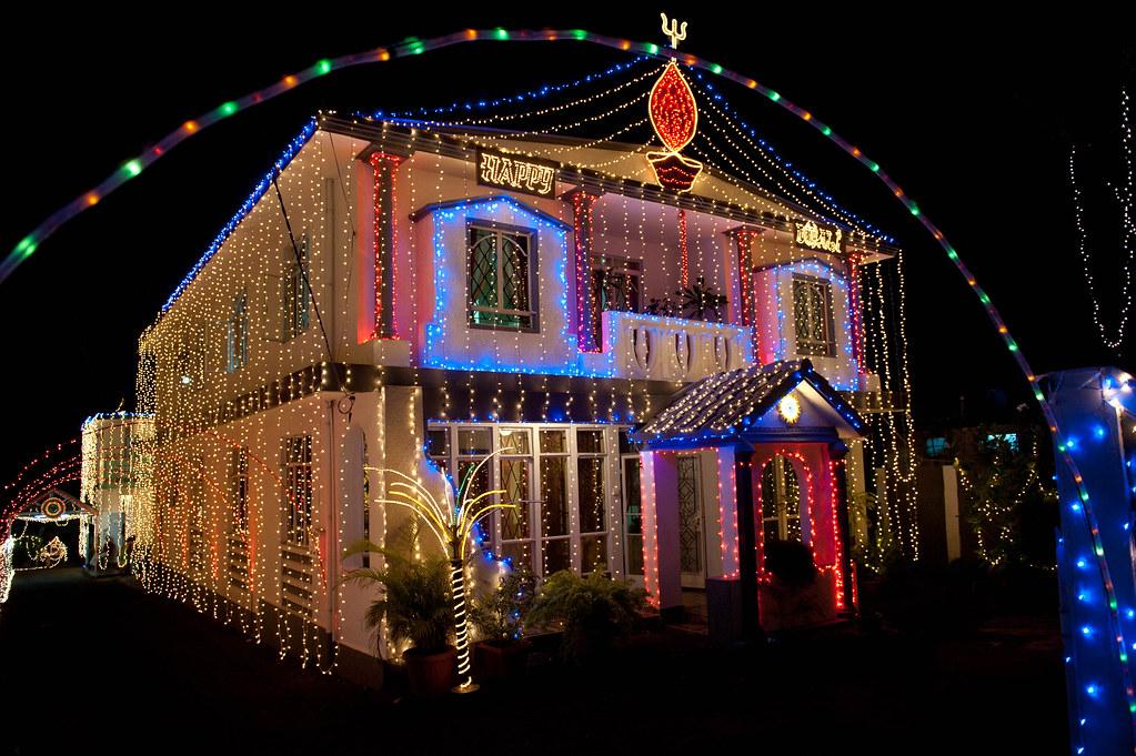 Happy Divali Diwali In Mauritius At Triolet The Hindu
