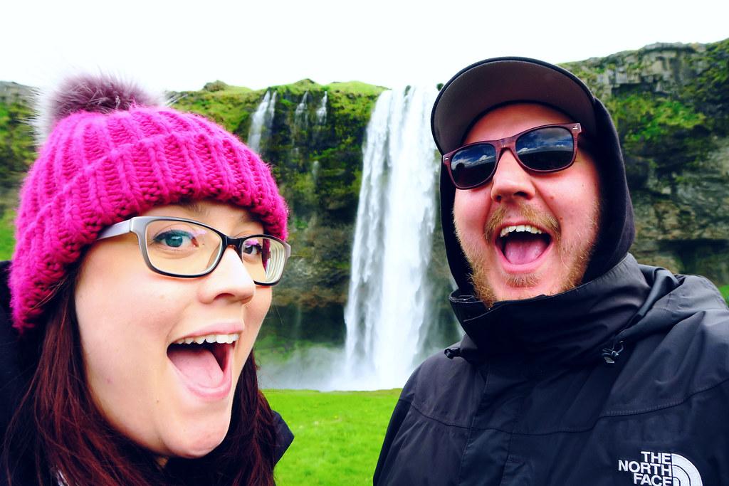 Waterfalls at Seljalandsfoss, Iceland