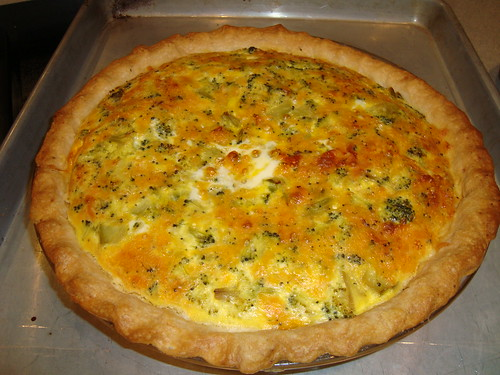 Broccoli Cheese Quiche Recipe Food Network
