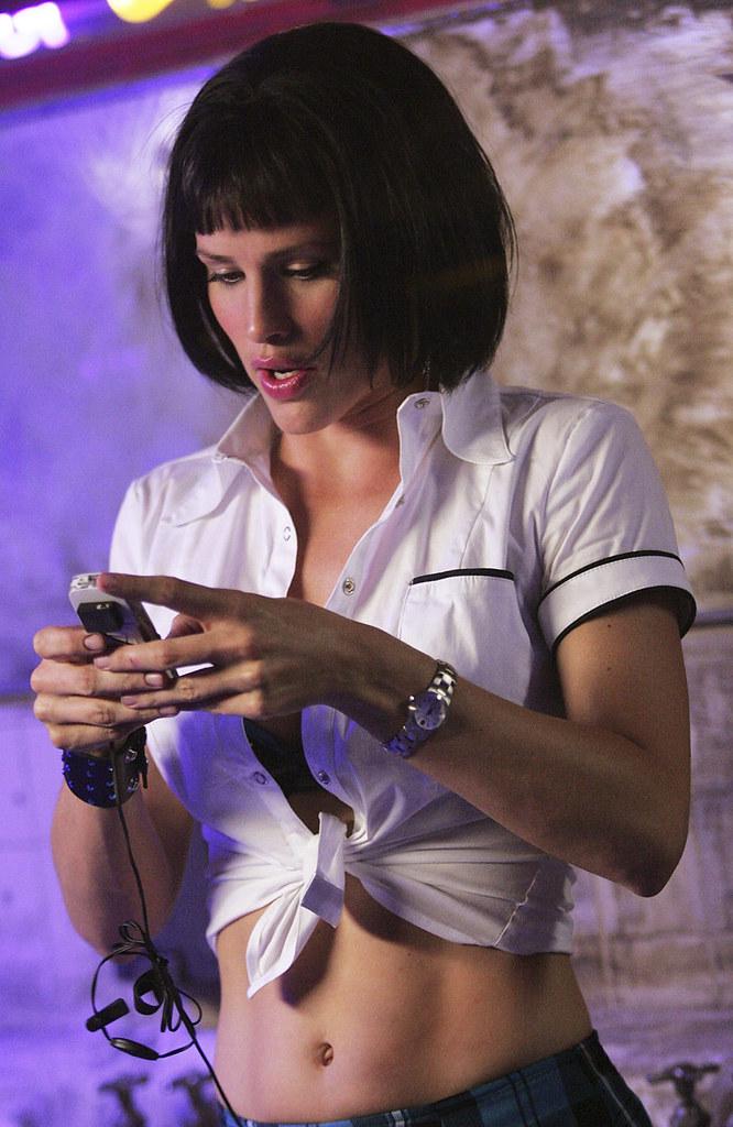 Jennifer Garner Tied Shirt  Muslanaaaaaaaaaaaa  Flickr-3694