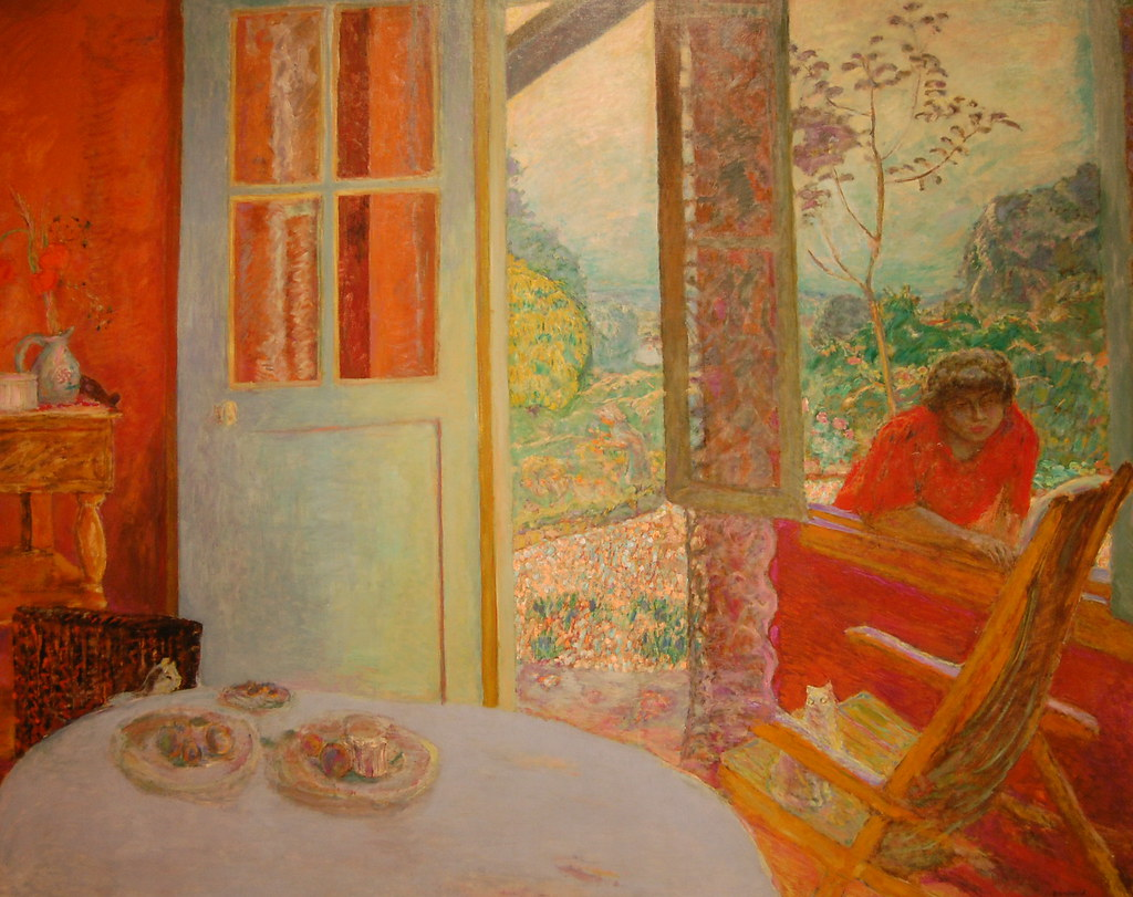 Pierre Bonnard Dining Room In The Country 1913 Minneapol Flickr