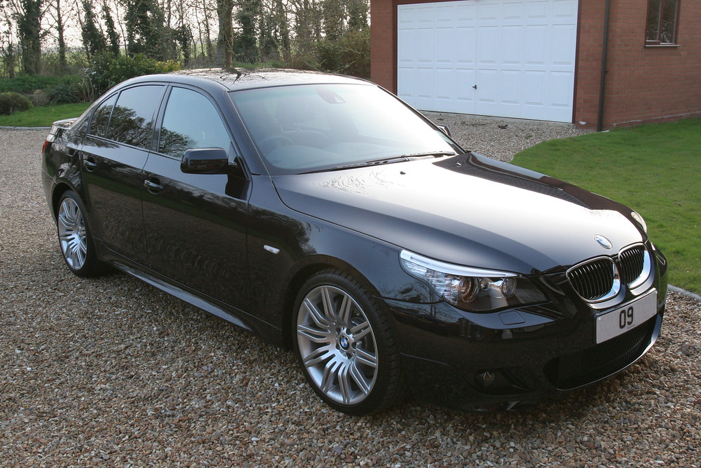 bmw e60 535d m sport 2009 my 2009 bmw 535d m sport e60 b flickr. Black Bedroom Furniture Sets. Home Design Ideas
