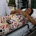 Iranice Coelho gravida de quadrigemeos