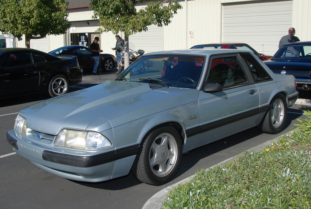 Ford Mustang Foxbody Coupe Navymailman Flickr