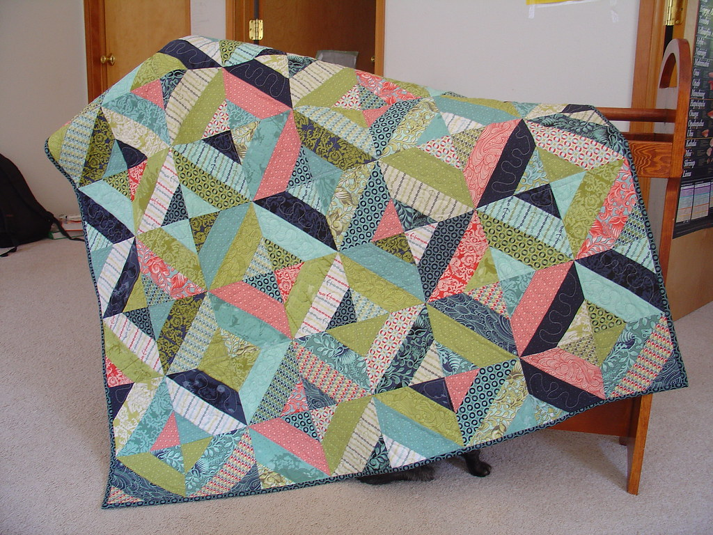Neptune Jelly Roll Quilt Blogged At Stamping Spot Studio