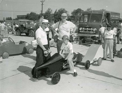 Getting ready for Pushmobile Derby | by Delaware Historical Society