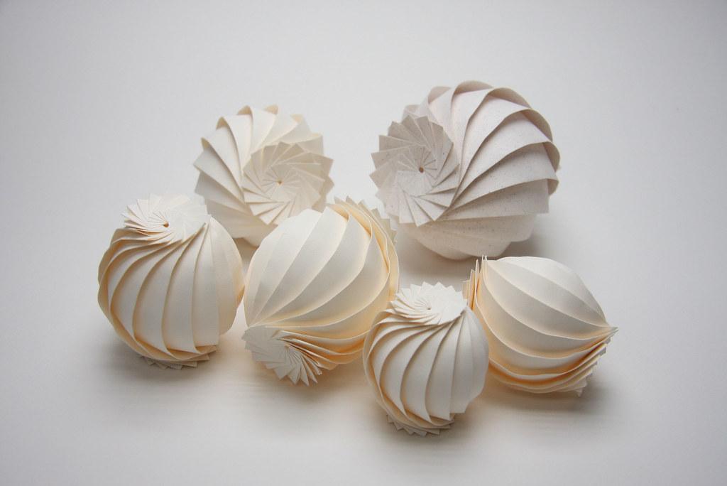 6 Origami Spheres Jun Mitani Flickr