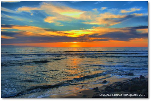 Glorious Coastal Sunset | by lhg_11, 2million views. Thank you!