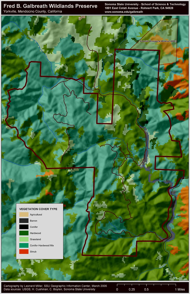 GWP calveg map   Sonoma State Field Stations and Nature Preserves ...