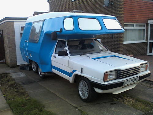 Ford Cortina Starcraft Campervan 1977 Car And Classic Co
