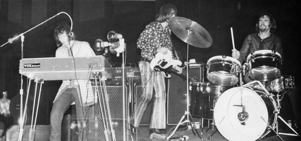 Iron Butterfly 1969 Doug Pringle Lee Dorman And Ron
