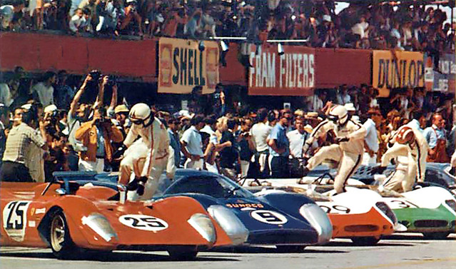 last le mans start sebring 69 this photo is from the. Black Bedroom Furniture Sets. Home Design Ideas