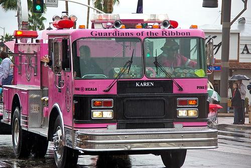 Pink Heals Fire Truck Tour