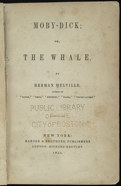 mobydick or the whale title page file name 0903