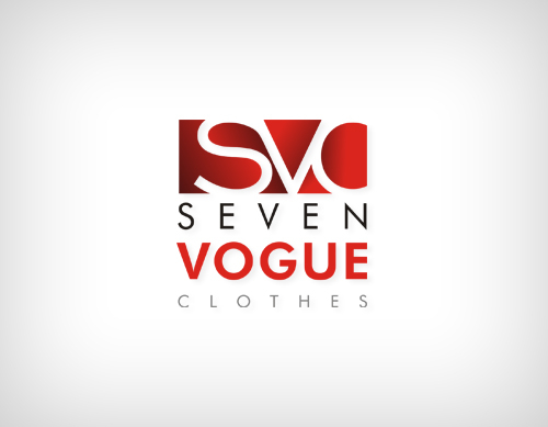 Seven Clothing Seven Vogue Clothes Logo