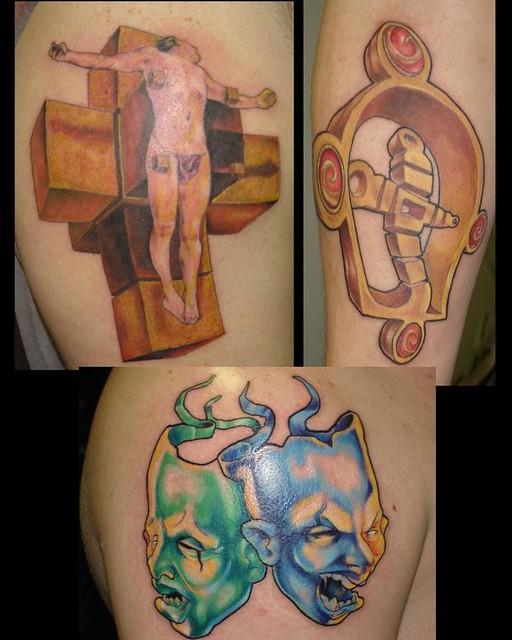Salvador Dali Tattoo Dali Tattoo: Salvador Dali Tattoo