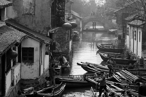ZhouZhuang waterways | by Sophie et Fred