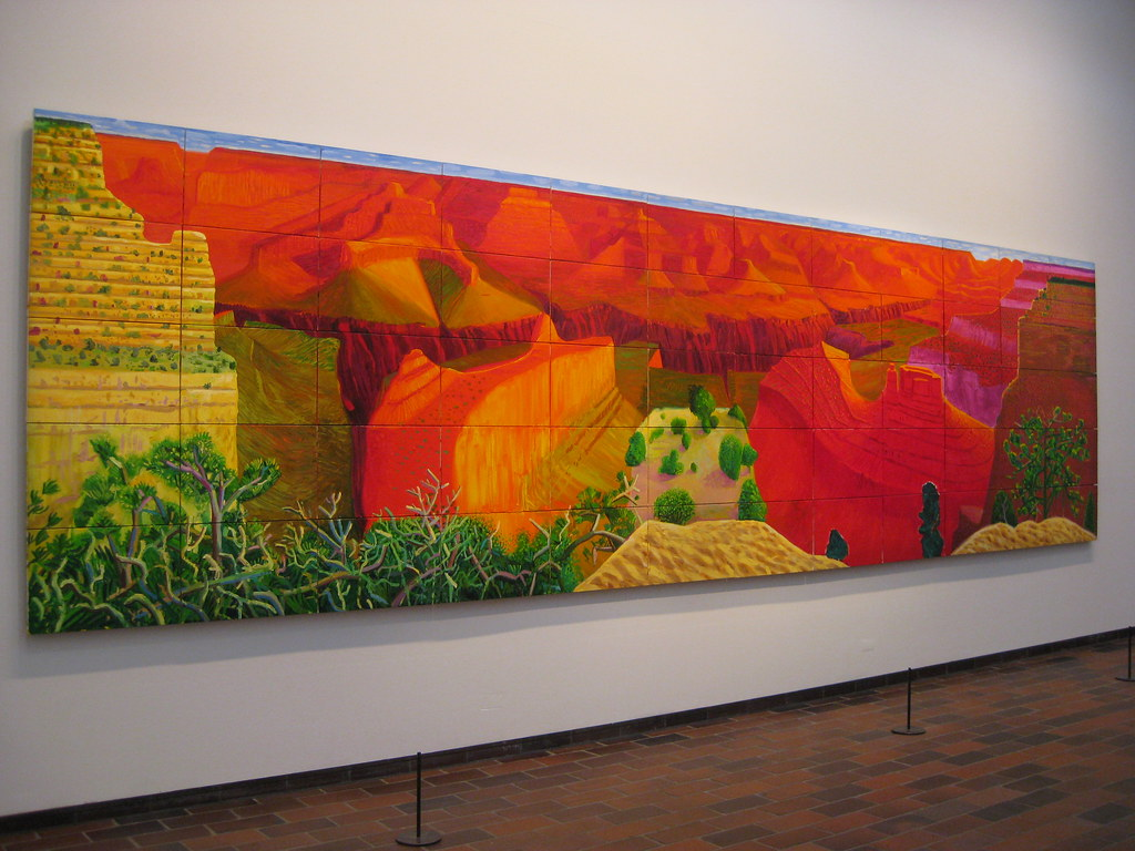 A Closer Grand Canyon David Hockney En El Museo