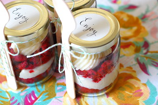 red velvet in a jar | by rubyellen