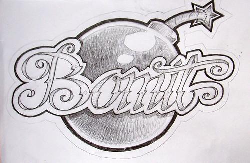 Cool Easy Graffiti Drawings