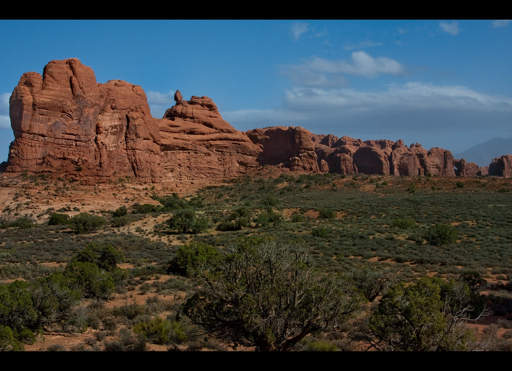 The Garden Of Eden A View Of Arches National Park In Utah Flickr