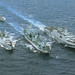 Chinese naval task force in exercise