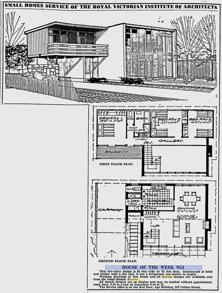 953 the age 1964 midcentarc flickr for New age home designs