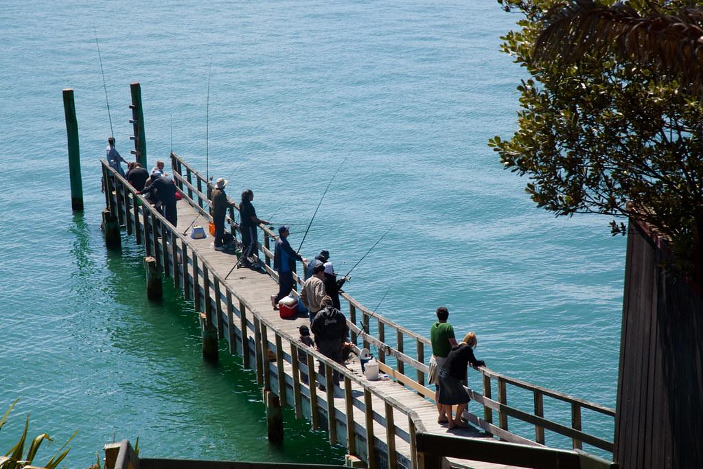 Fishing off wairangi wharf russellstreet flickr for Sala wharf 73