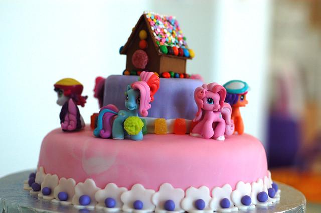 My Little Pony Carrot Cake