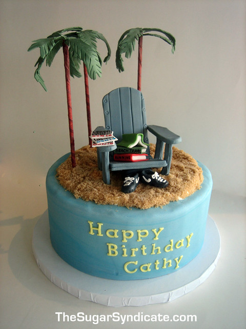 Adirondack Chair Birthday Cake