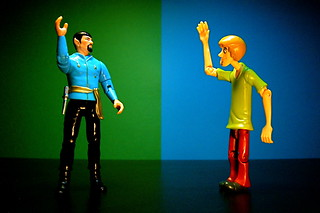 Mirror Spock vs. Shaggy (128/365) | by JD Hancock
