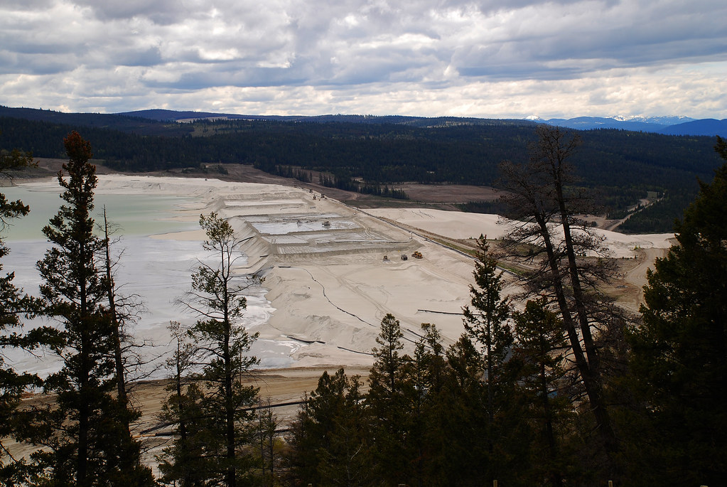 Used Diesel Trucks >> Highland Valley Copper Tailings Dam 2010   From Wikipedia...…   Flickr