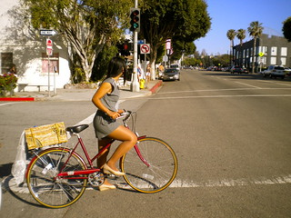 Cycle Chic Sunday! Santa Monica | by Christa . Bike by the Sea
