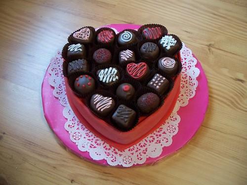 Фото торта на день валентина